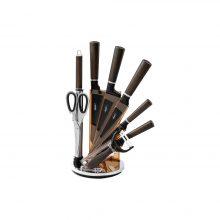 سرویس چاقو آشپزخانه ۹ پارچه مایر مدل MR-15